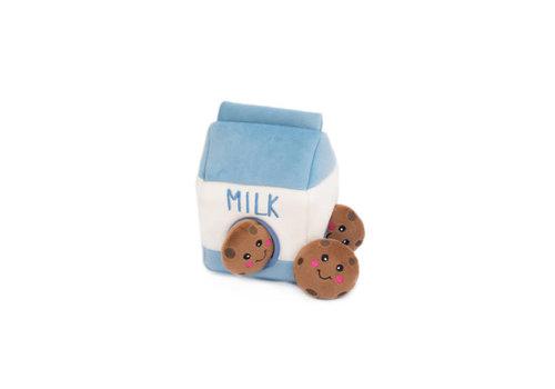 ZippyPaws Verstopspeeltje - Melk en Cookies