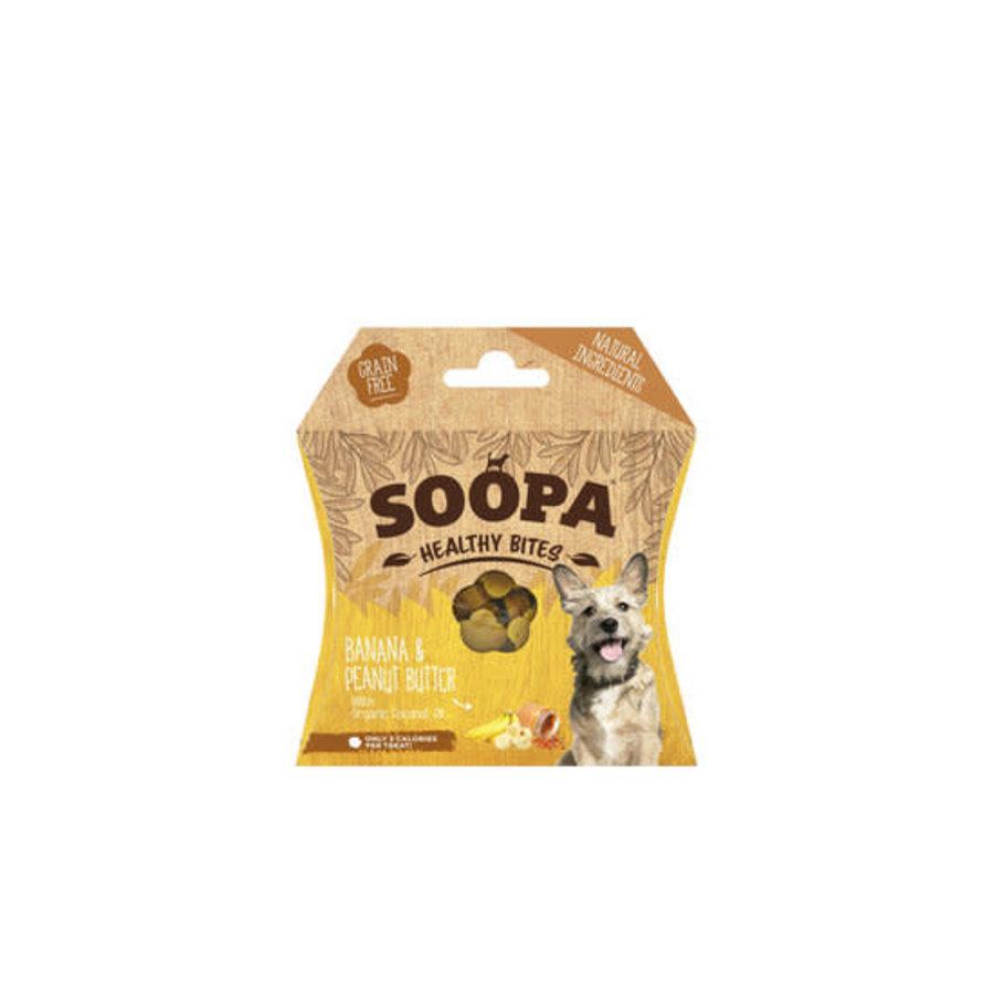 Gezonde beloning Banaan & Pindakaas 50 gram