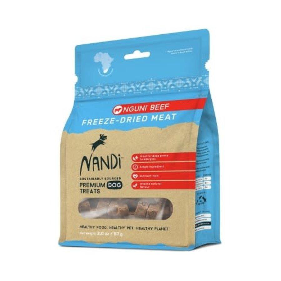 Nandi Freeze Dried Treats Nguni Beef 57 gram