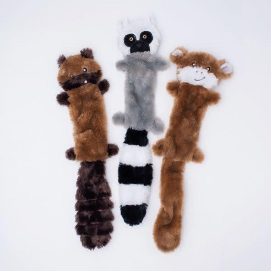 Skinny Peltz 3-pack L (Eekhoorn, Maki, Aap)