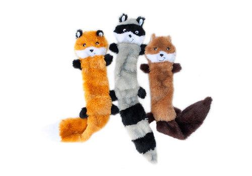 ZippyPaws Skinny Peltz 3-pack L (Vos, Wasbeer, Eekhoorn)