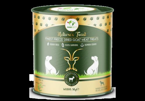 Pawfect Freeze-Dried Goat Meat Treats 50 gram