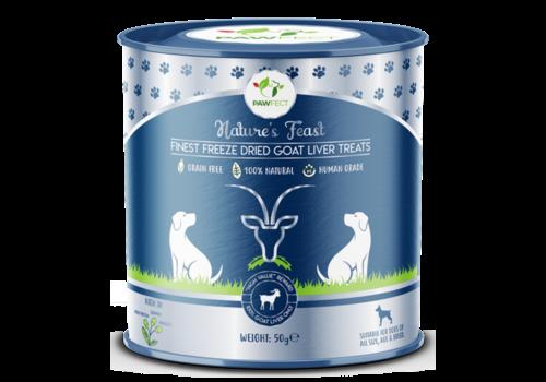 Pawfect Freeze-Dried Goat Liver Treats 50 gram