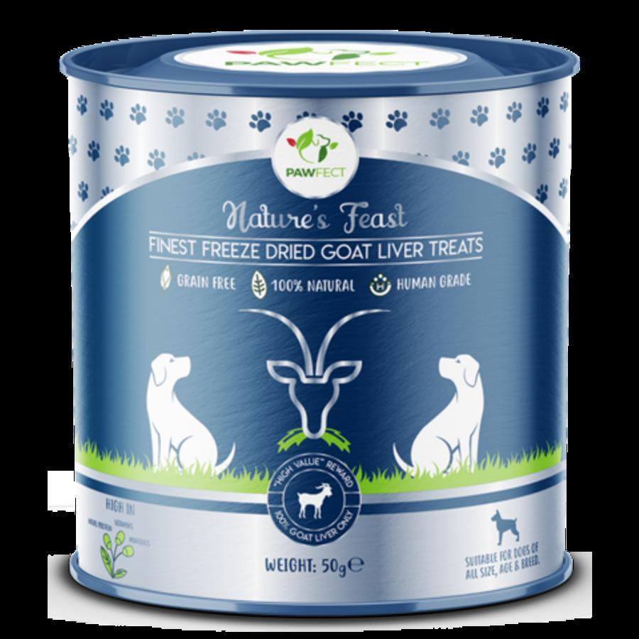 Freeze-Dried Goat Liver Treats 50 gram