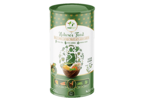 Pawfect Freeze-Dried Chicken Treats with Asian Greens 50 gram