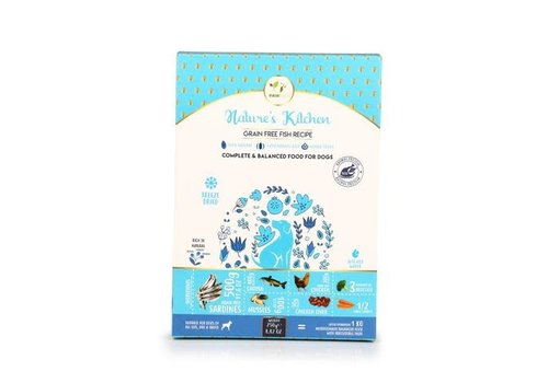 Pawfect Freeze-Dried Grain Free Fish Recipe For Dogs
