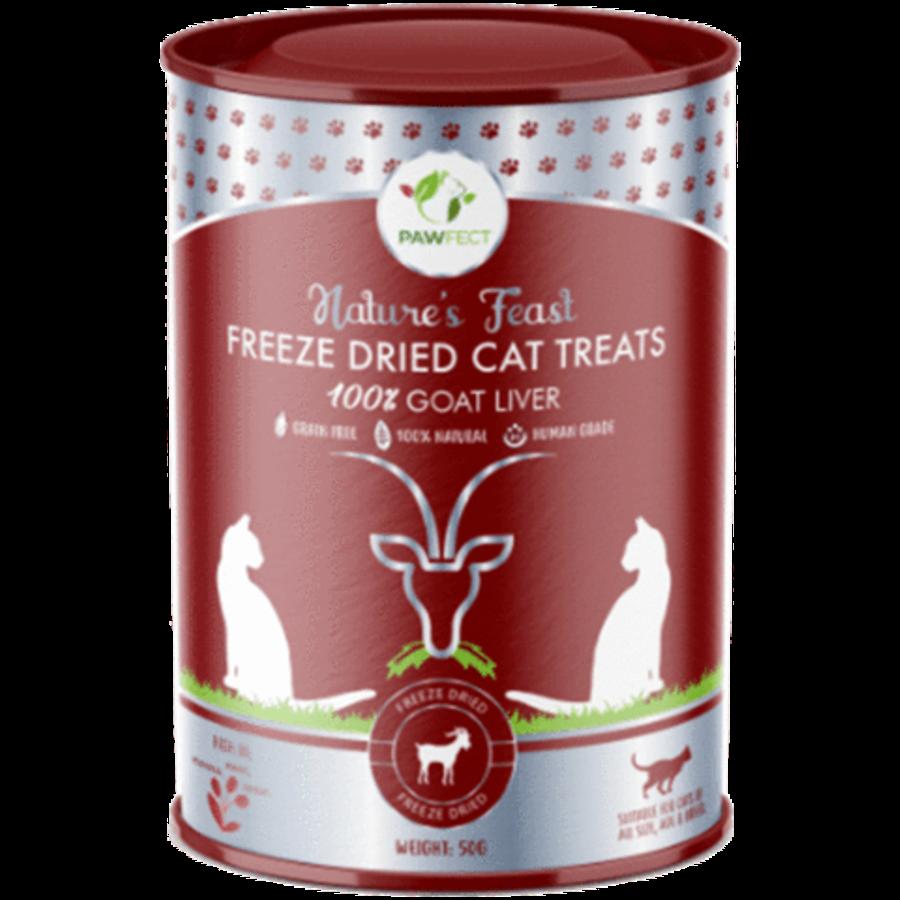 Freeze-Dried Cat Treats Goat Liver Treats 50 gram