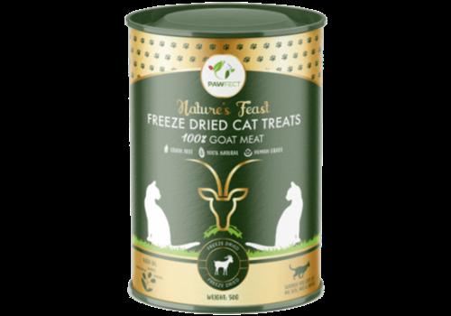 Pawfect Freeze-Dried Cat Treats Goat Meat Treats 50 gram