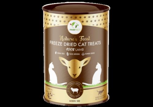 Pawfect Freeze-Dried Cat Treats  Lamb Treats 50 gram