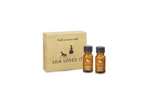 Lila Loves It Sample Set Shampoo Shine & Comb en Silky & Shine 2 x 10 ml