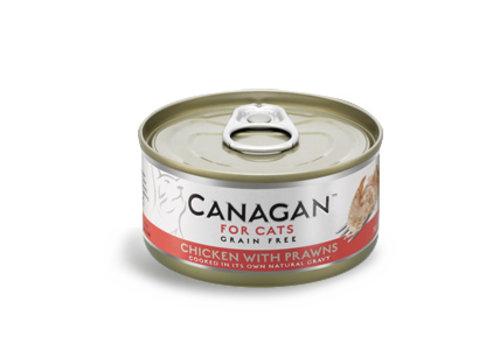 Canagan Canagan kip met garnalen 75 gram