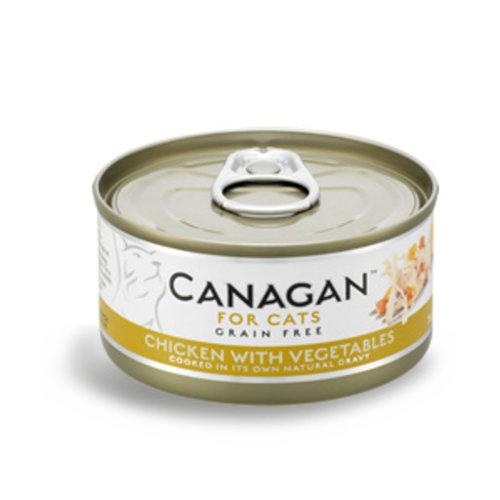 Canagan Canagan kip met groenten 75 gram