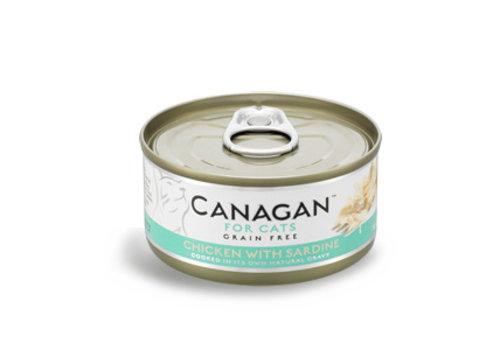 Canagan Canagan kip met sardienen 75 gram