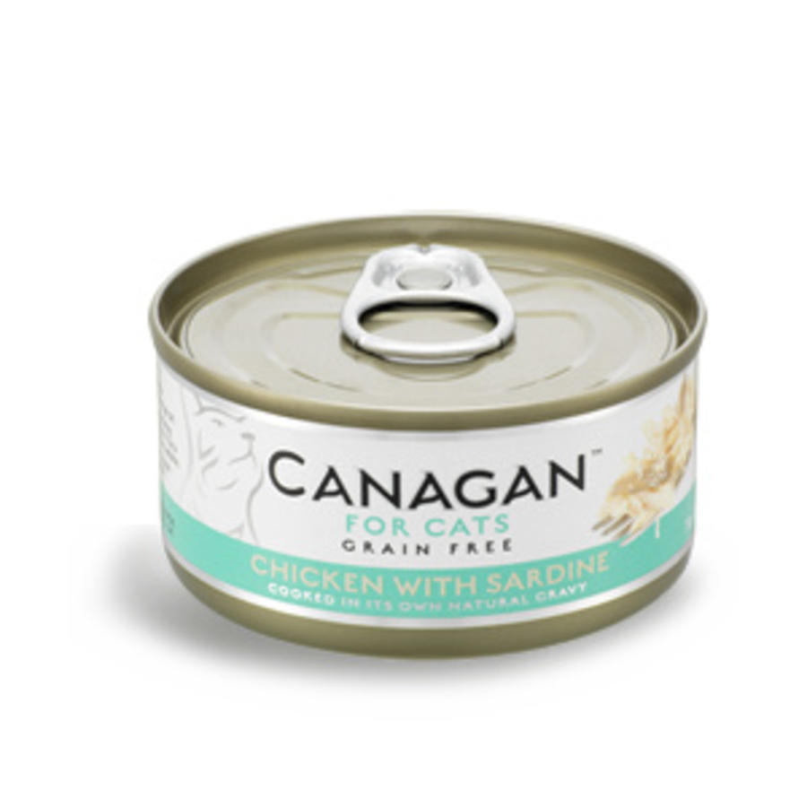 Canagan kip met sardienen 75 gram