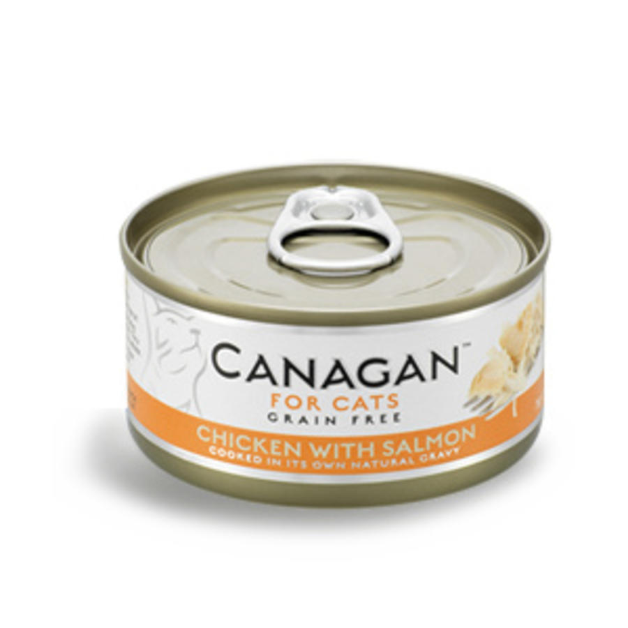 Canagan kip met zalm 75 gram