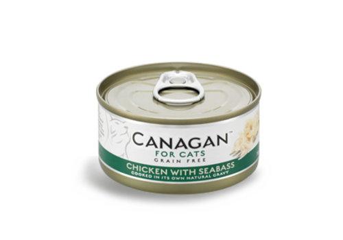 Canagan Canagan kip met zeebaars 75 gram