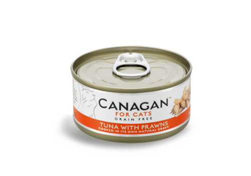Canagan Canagan tonijn met garnalen 75 gram