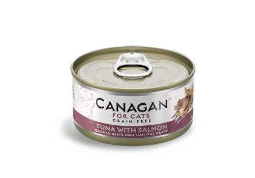 Canagan Canagan tonijn met zalm 75 gram