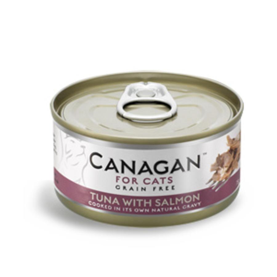 Canagan tonijn met zalm 75 gram