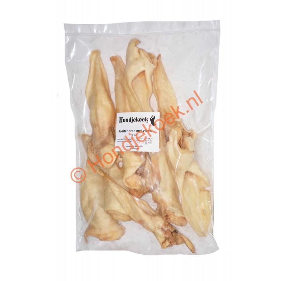 Geitenoren met vlees 400 gram