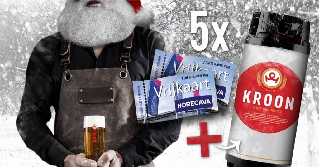 Win een 20 liter fust Kroon en 2 kaarten voor de Horecava!