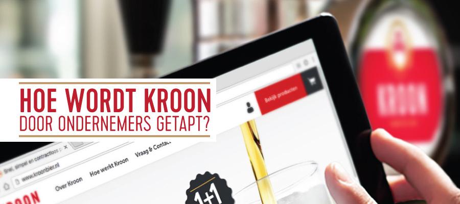 Hoe ondernemers Kroon tappen