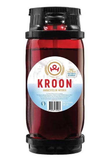 Kroon Kroon witbier 20 liter