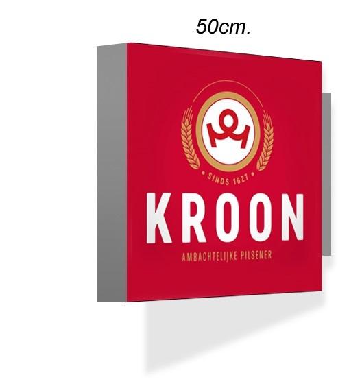 Uithangbord Kroon 50x50cm