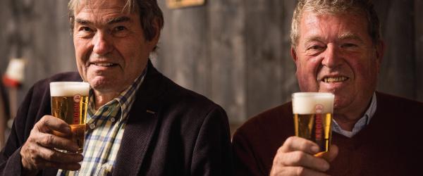 Kroon bier afhalen bij een verkooppunt