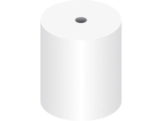 Thermo kassarollen 80x80x12mm 75M BPA-vrij 10jr archief 1 doos a 50 rol