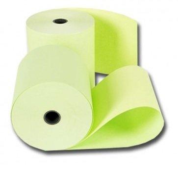 Houtvrije kassarollen 76x70x12mm groen 1 doos a 50 rol