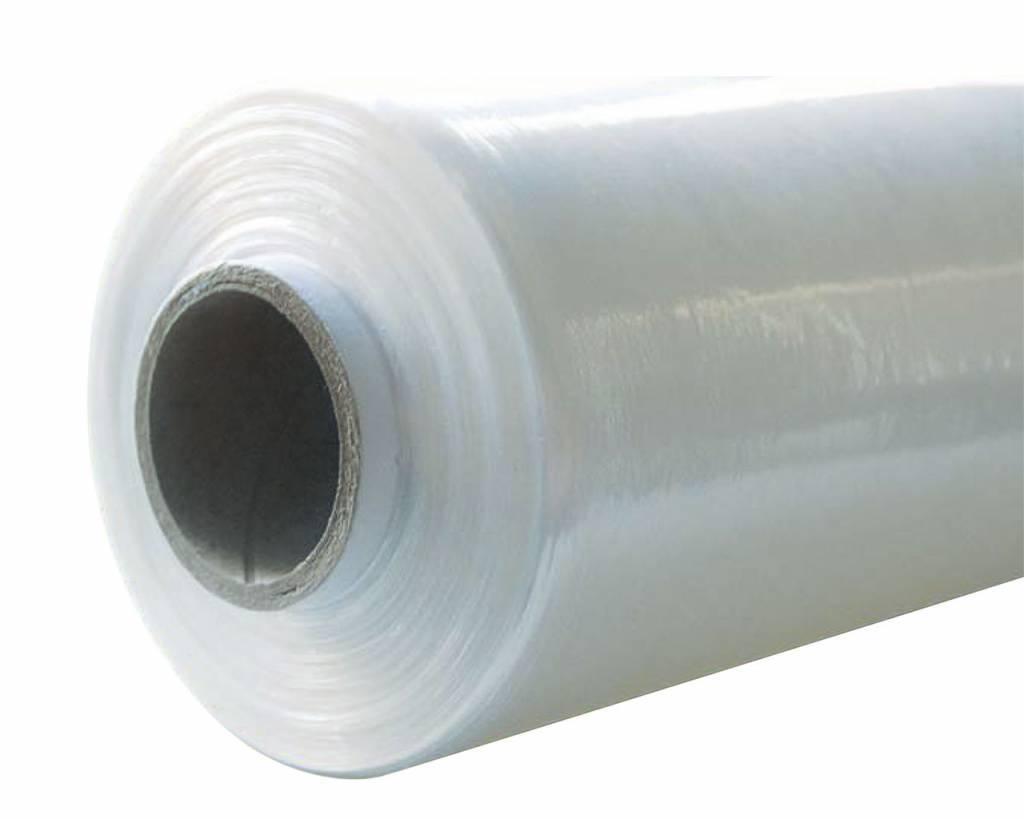 Rekfolie Handwrap B 500 mm x L 270 mtr, 23my transparant, 6 rol/ds