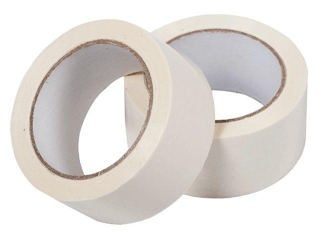 Plakband PVC solvent 66 mtr x 50 mm wit, 36 rol/per doos