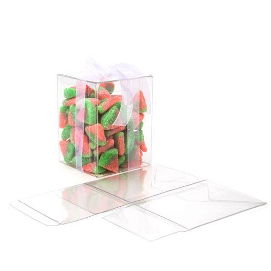 Kristalheldere Pop & Sluit Dozen 5.1 x 5.1 x 7.6cm (25 Stuks) [PLB139]