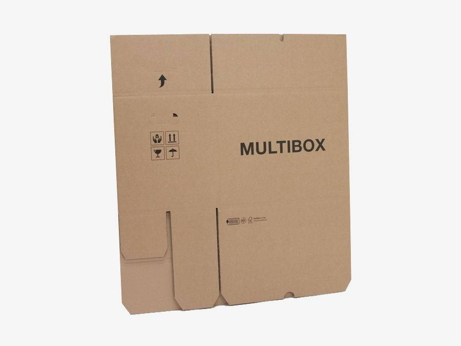 Multibox BC-golf 485x320x225mm Bruin
