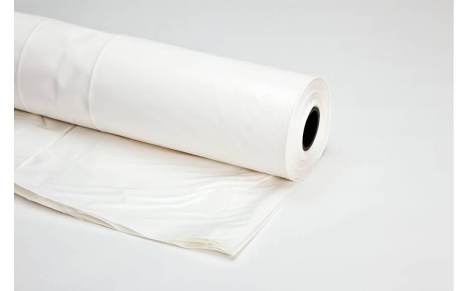 Steigerfolie - Krimpfolie powershrink 300, 6 x 25 meter wit UV 300 micron dik