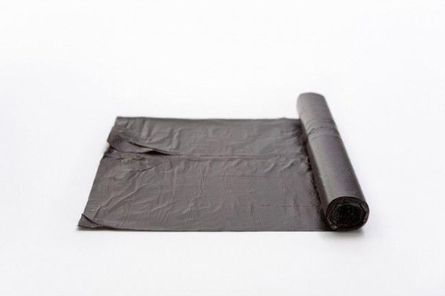 Afvalzakken 60x80cm T50 grijs, LDPE. 60 liter. Rol 20 stuks (20 rol per doos)
