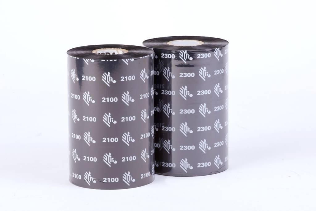 Zebra Zebra Z2300 wax ribbon 110 mm x 74 meter 12 rollen / doos