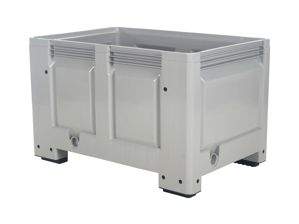 BIG BOX kunststof palletbox - 1200 x 800 mm - op 4 poten