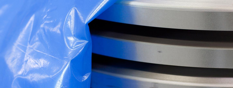 Corrosiewerende verpakkingen in plastic en VCI folie