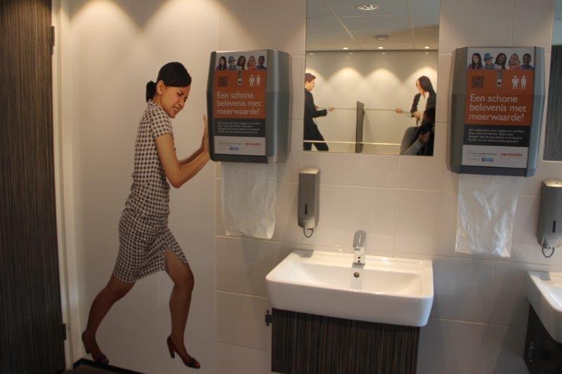 Dispensers voor de keuken en het toilet