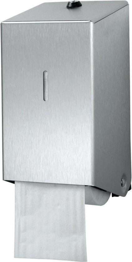 Euro Products Euro Products 438001 Doproldispenser RVS toiletpapier