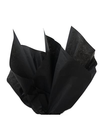 Zwart zijdepapier / Vloeipapier 50x70cm zwart 17gr/m2
