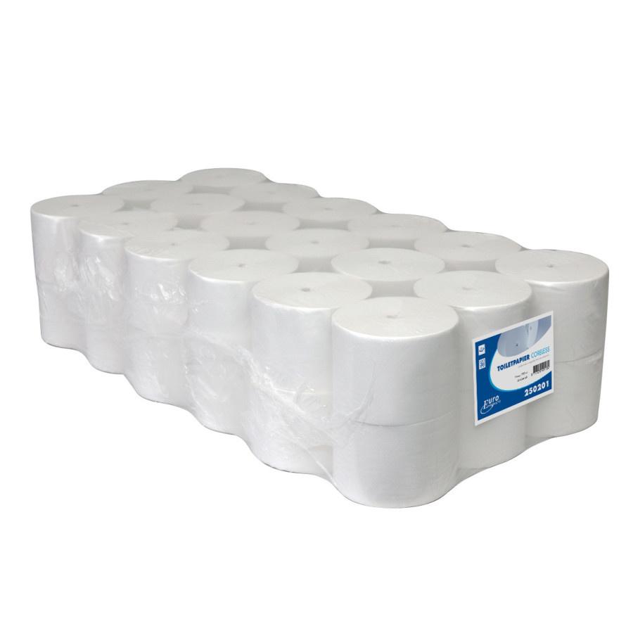 Toiletpapier Coreless wit 1lgs 1400 vel pak a 36rol (250201)