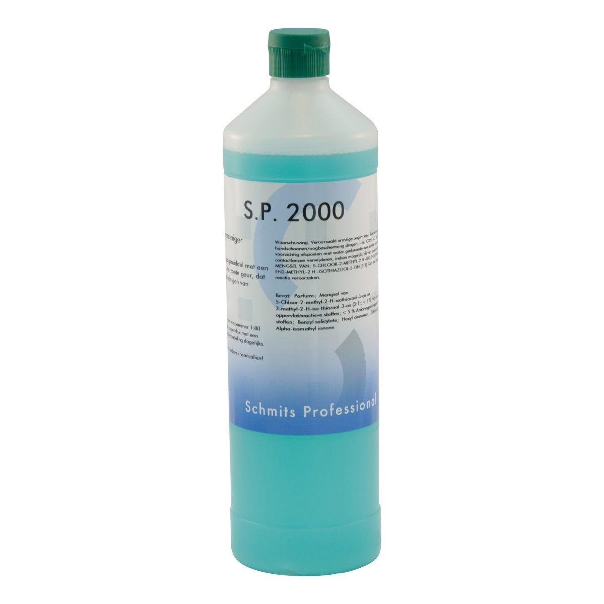 SP 2000 Neutrale vloerreiniger extra parfum 1 ltr - 12 fles per doos