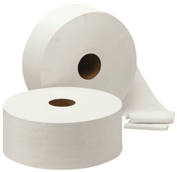Maxi Jumbo Toiletpapier 240038 2-laags 380 meter - 6 rol per pak
