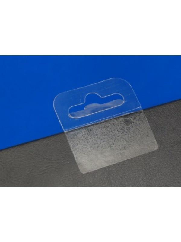 Eurologklever-Hangups-Hangtabs zijn stickers voorzien van een Eurosleuf / Eurolock. 50x50mm, kleef 50x28mm 1000/per rol