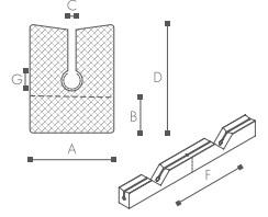 Nomapack NOMAPACK® WS 33x26 Edge Pad CYC rol a 460 meter 3002302