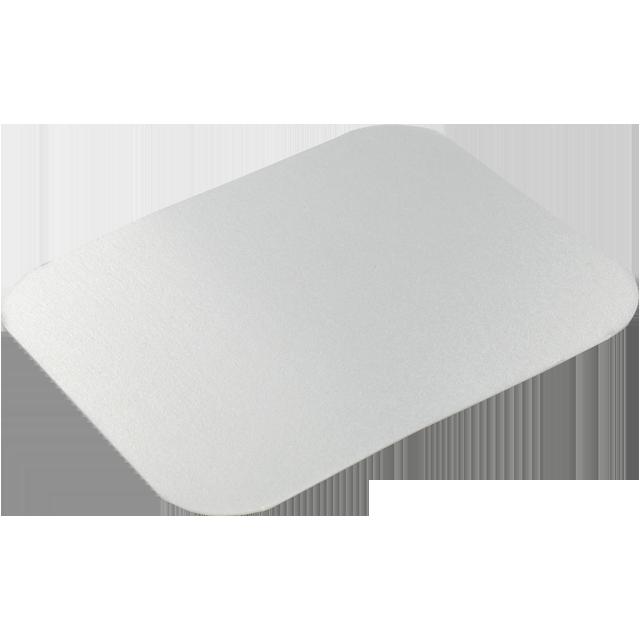 Deksel 1000 stuks, Karton/Aluminium, 140x114.5mm, aluminium