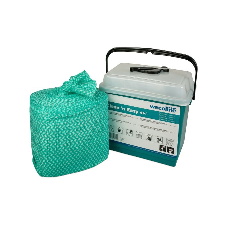 Wecolinë Clean 'n Easy WetWipes – Hygienisch ethanol 70% – 02036004